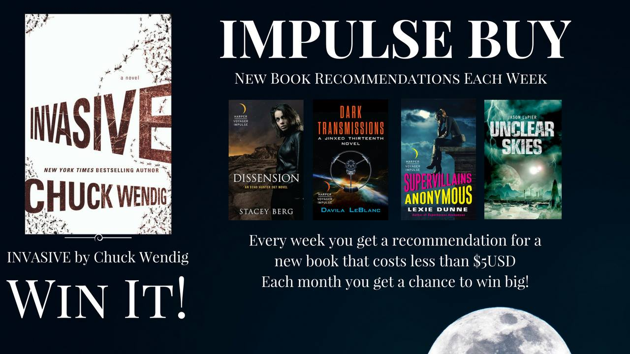 My Fellow Harper Voyager Impulse Author Liana Brooks Runs A Great  Newsletter Called Impulse Buy Every Tuesday, She Highlights Books That Are  On Sale For