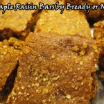 Bready or Not: Maple Raisin Bars