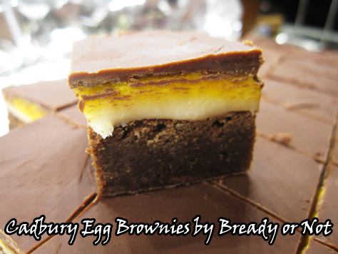 Bready or Not: Cadbury Egg Brownies