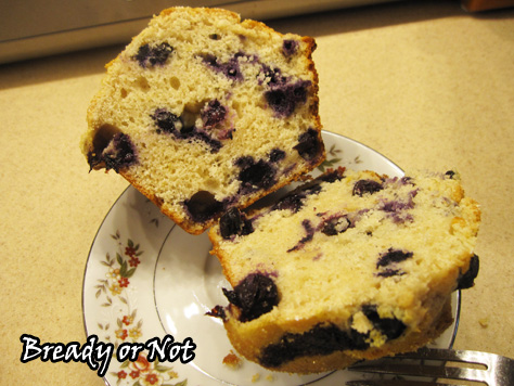 Bready or Not: Jumbo XXL Lemon-Blueberry Muffins