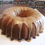 Bready or Not: Cardamom Cake with Coffee Glaze