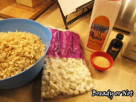 Bready or Not: Maple Krispy Treats
