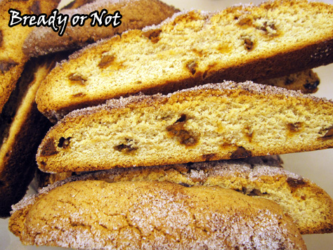 Bready or Not: Snickerdoodle Biscotti