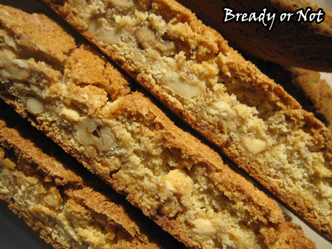 Bready or Not: Maple-Walnut White Chocolate Biscotti