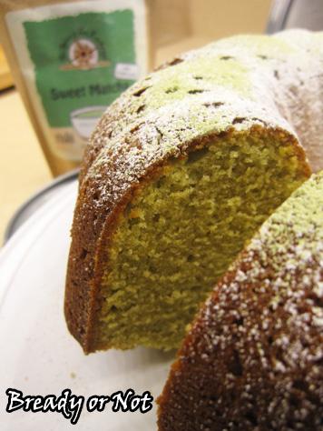 Bready or Not: Matcha Green Tea Bundt Cake