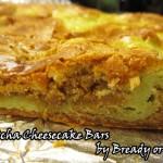 Bready or Not: Matcha Green Tea Cheesecake Bars