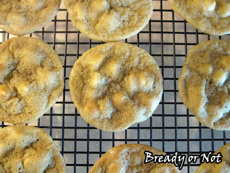Bready or Not: Matcha White Chocolate Cookies