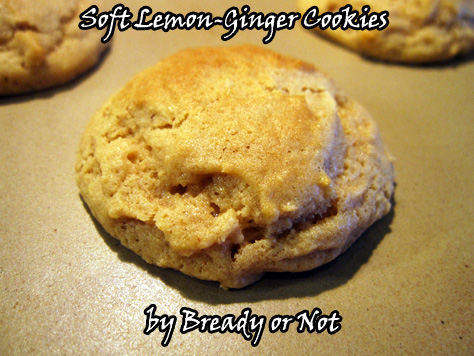 Soft Lemon-Ginger Cookies