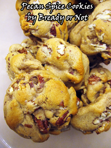 Bready or Not: Pecan Spice Cookies