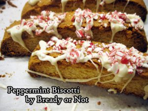 Bready or Not: Peppermint Biscotti