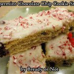 Bready or Not: Peppermint Chocolate Chip Cookie Sticks
