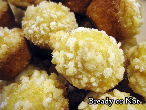 Bready or Not: Lemon Crumb Mini Muffins