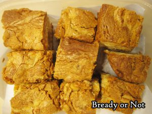 Bready or Not Original: Cookie Butter White Chocolate Macadamia Nut Bars