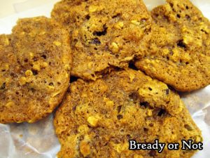 Bready or Not: Apple Butter Oatmeal Cookies