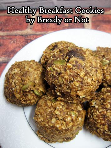 Bready or Not: Healthy Breakfast Cookies