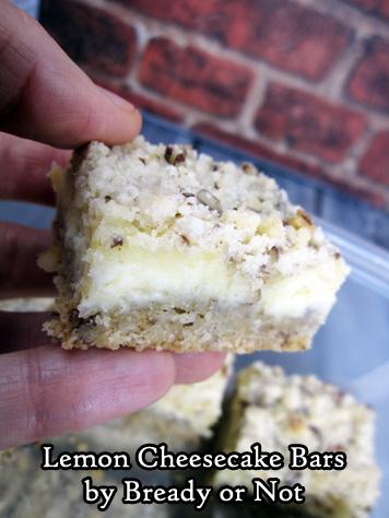 Bready or Not Original: Lemon Cheesecake Bars