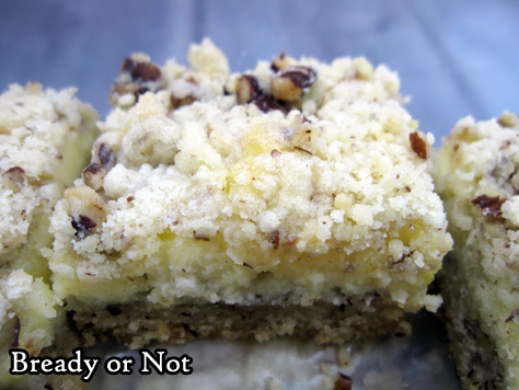Bready or Not Original: Lemon Cheesecake Bars