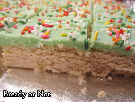 Bready or Not: Sugar Cookie Bars