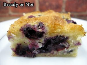 Bready or Not: Blueberry Hand Cake