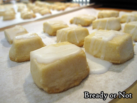 Bready or Not: Lemon Shortbread Bites