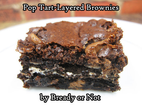 Bready or Not: Pop Tart-Layered Brownies