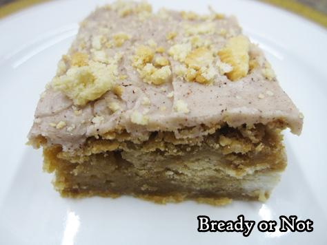 Bready or Not Original: Glazed Maple Blondies