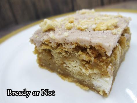 Bready or Not Original: Glazed Maple Blondies