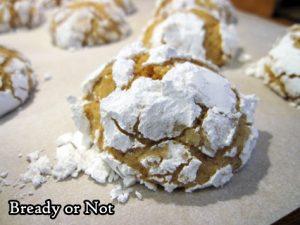 Bready or Not: Lemon Brown Butter Crinkle Cookies