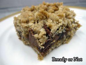 Bready or Not: Oatmeal Caramel Bars