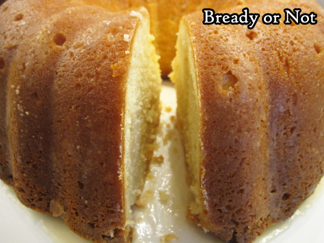 Bready or Not: Bourbon-Glazed Pound Cake (Tube/Bundt Cake)