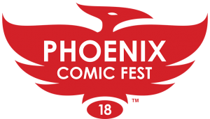 Phoenix Comic Fest logo 2018