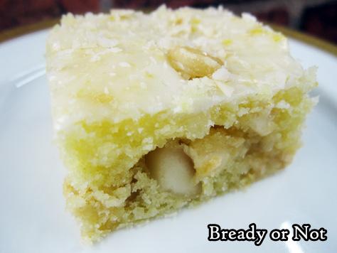 Bready or Not: Lemony Macadamia Nut Blondies