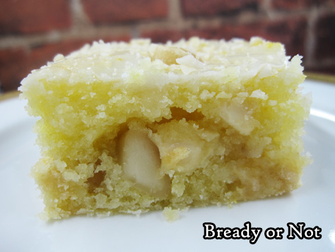 Bready or Not: Lemony Macadamia Nut Blondies