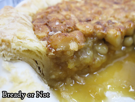 Bready or Not Original: White Chocolate Macadamia Nut Pie