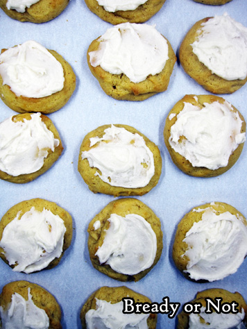 Bready or Not: Maple-Glazed Pumpkin Cookies