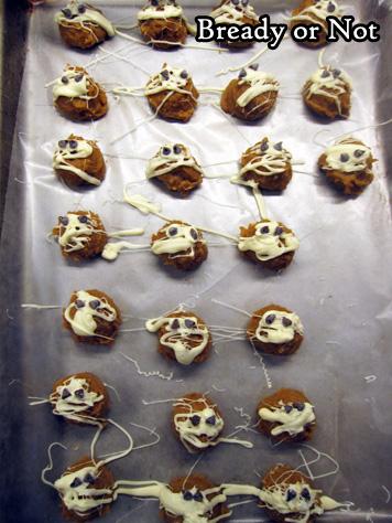 Bready or Not: No-Bake Mummy Biscoff Buckeyes