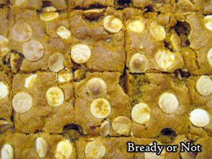 Bready or Not: Pumpkin Caramel Chip Bars