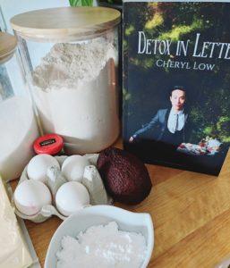 Detox in Letters ingredients