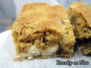 Bready or Not: White Chocolate Spiced Blondies