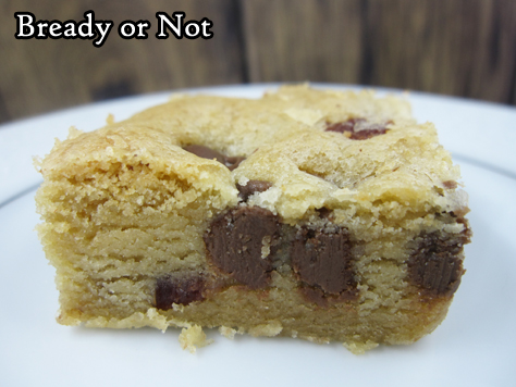 Bready or Not Original: Bacon Chocolate Chip Bars