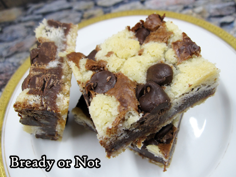 Bready or Not: Chocolate Crumble Bars