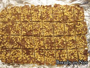 Bready or Not: Milk Chocolate Toffee Bars