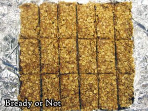 Bready or Not Original: No Bake Chocolate Almond Oatmeal Bars [Gluten Free]