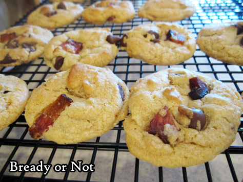 Bready or Not: Bacon-Toffee Cookies