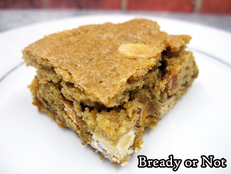 Bready or Not Original: Caramel Apple Chip Blondies