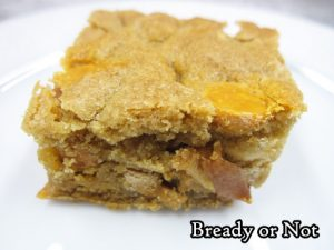 Bready or Not Original: Caramel Apple Chip Blondies