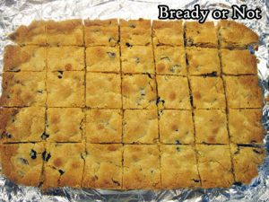 Bready or Not Original: Cranberry Candied Ginger Blondies