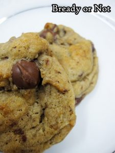 Bready or Not Original: Chewy Honey Chocolate Chip Cookies