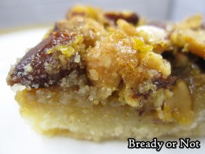 Bready or Not: Maple Nut Pie Bars