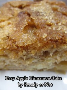 Bready or Not Original: Easy Apple Cinnamon Cake